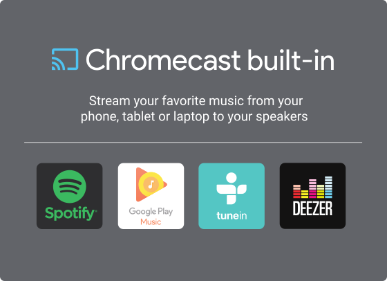 Logo: Chromecast Built-In